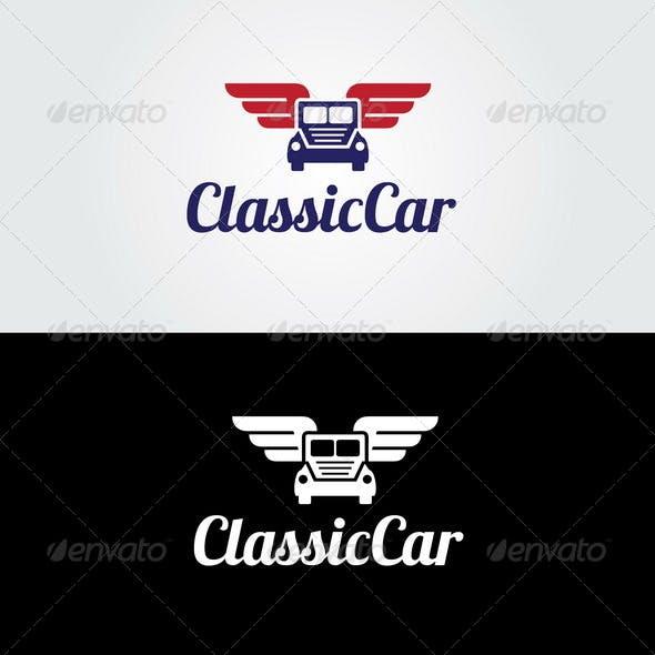 Classic Car Logo Template