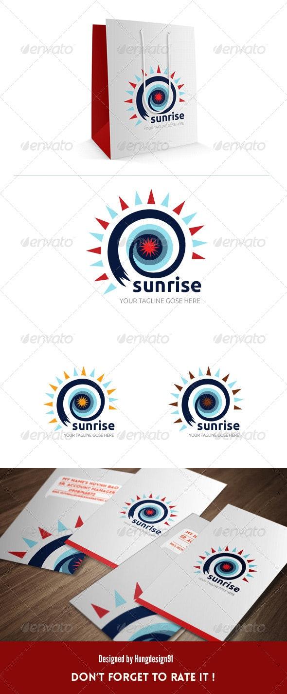 Sunrise Logo Template - Nature Logo Templates