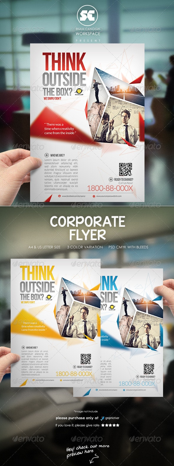 Modern Corporate Flyer / Magazine Ads - Corporate Flyers