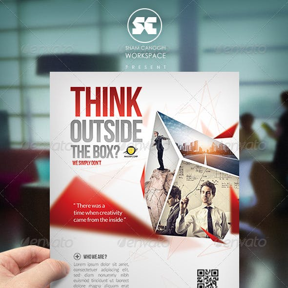 Modern Corporate Flyer / Magazine Ads