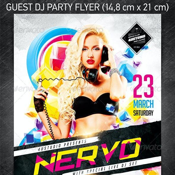 Guest DJ Party Flyer Vol.3