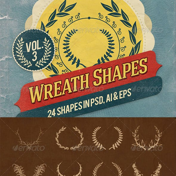 Wreath Shapes Vol.3