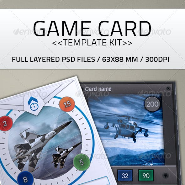 Card Game Kit Template