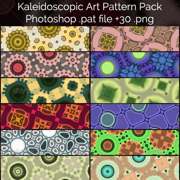 Kaleidoscopic Art Patterns