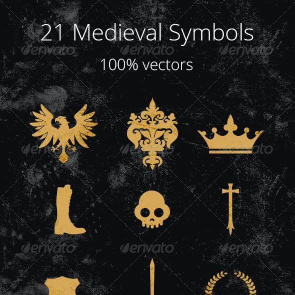 21 Medieval Symbols