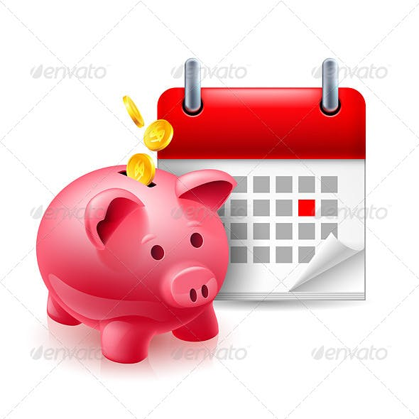 Time and Money Icon