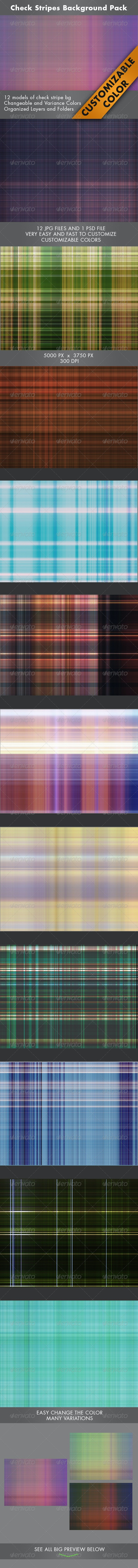 Check Stripes Background - Abstract Backgrounds