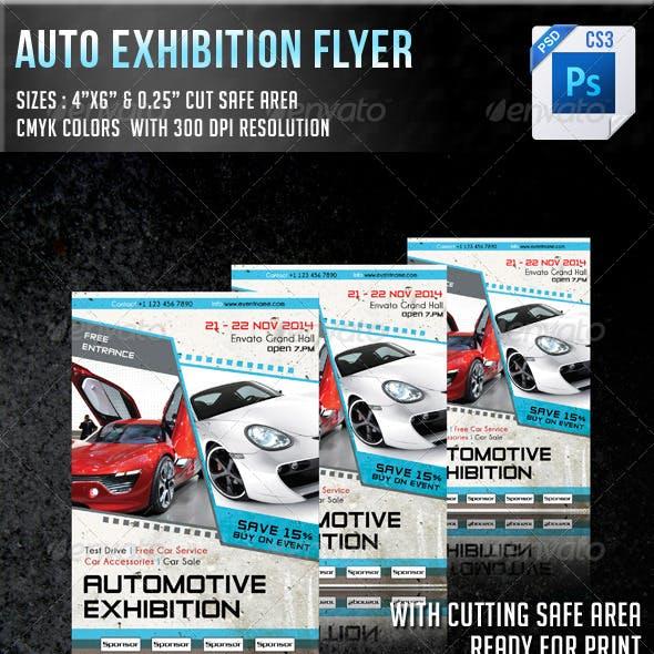 Auto Exhibition Flyer V7