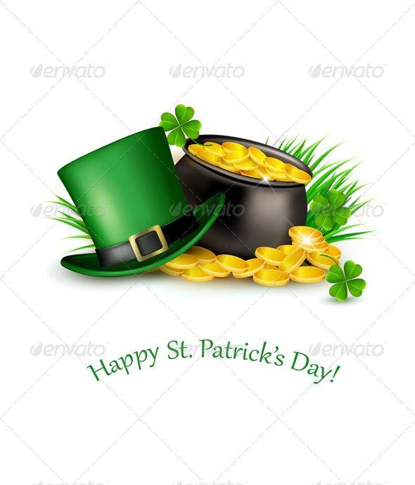 Saint Patricks Day Background - Miscellaneous Seasons/Holidays
