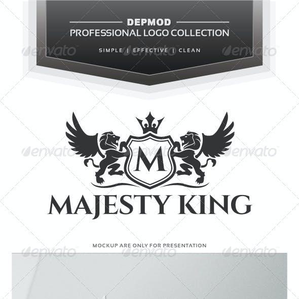 Majesty King V.02 Logo