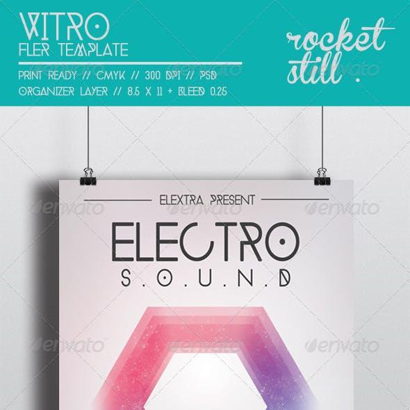 Vitro - Flyer Template