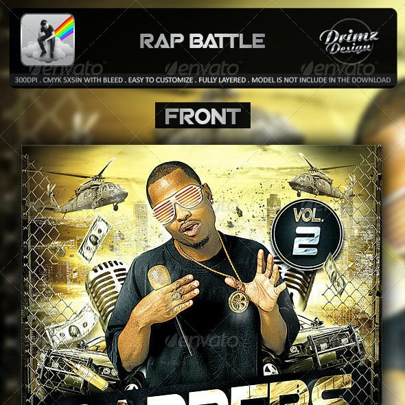 Rap Battle Mixtape Template