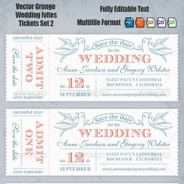Wedding Invites Set 2