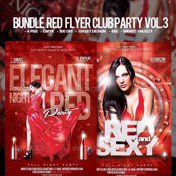 Flyer Club Party Bundle Vol. 3