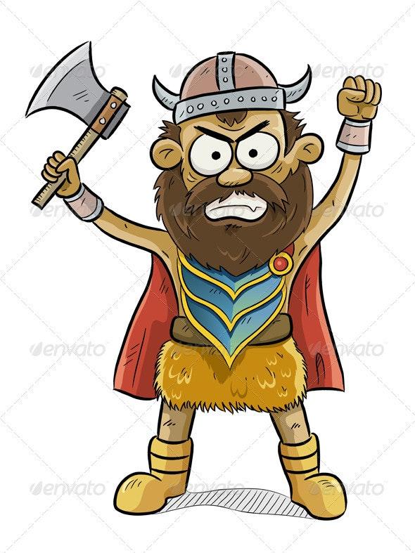 Viking Man - People Characters