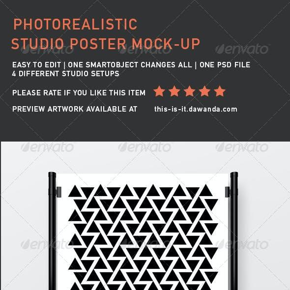 Studio Poster Mock-Up