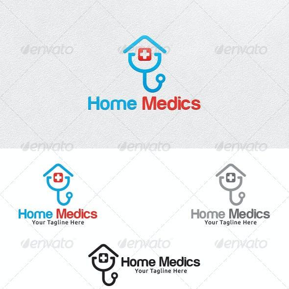 Home Medics - Logo Template
