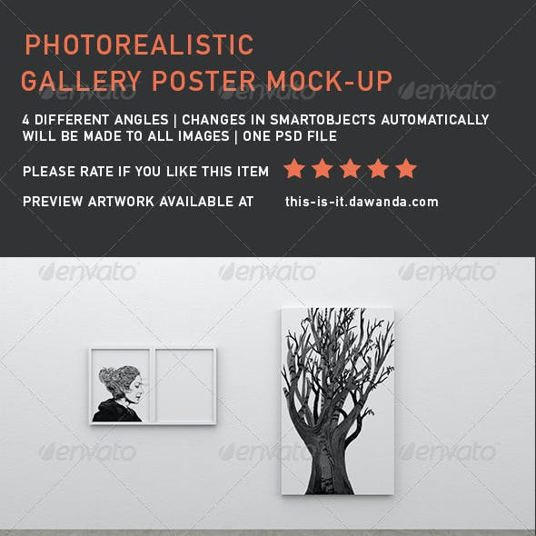Gallery Poster Mock-Up 3
