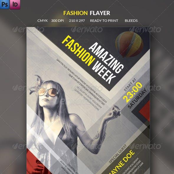 Retro Fashion Flyer