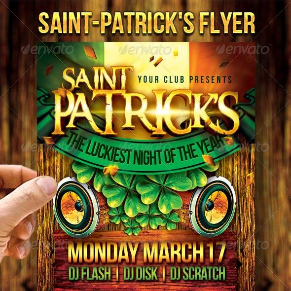 Saint-Patrick's Flyer