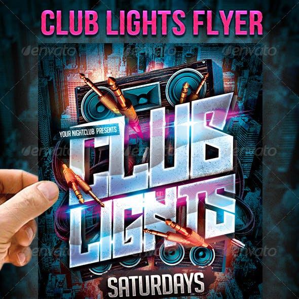 Club Lights Flyer