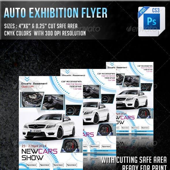 Auto Exhibition Flyer V8