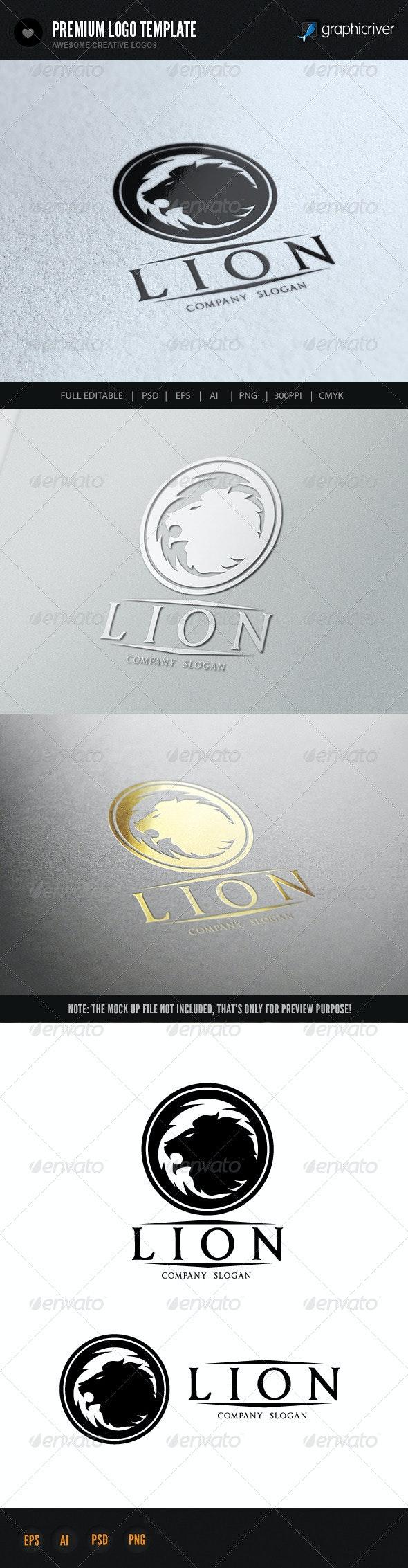 Lion - Crests Logo Templates