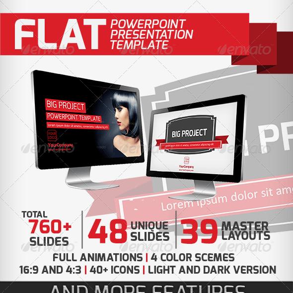 Flat Presentation Template