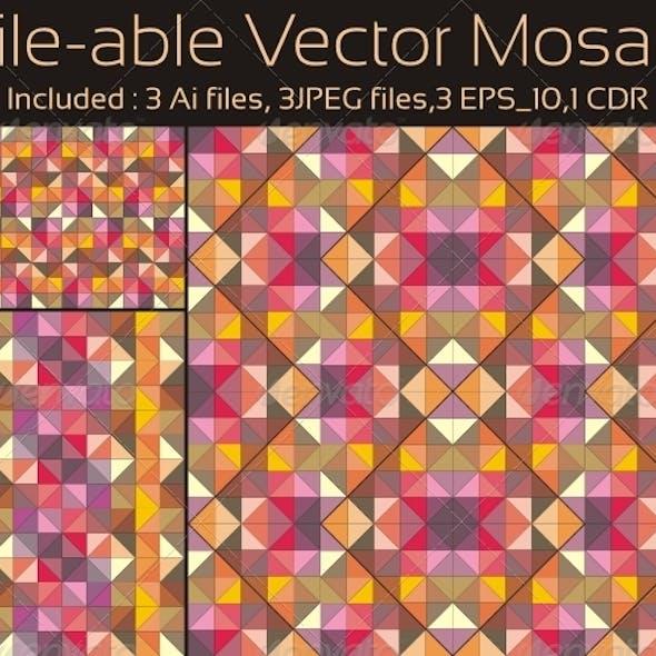 Tile-able Vector Mosaic