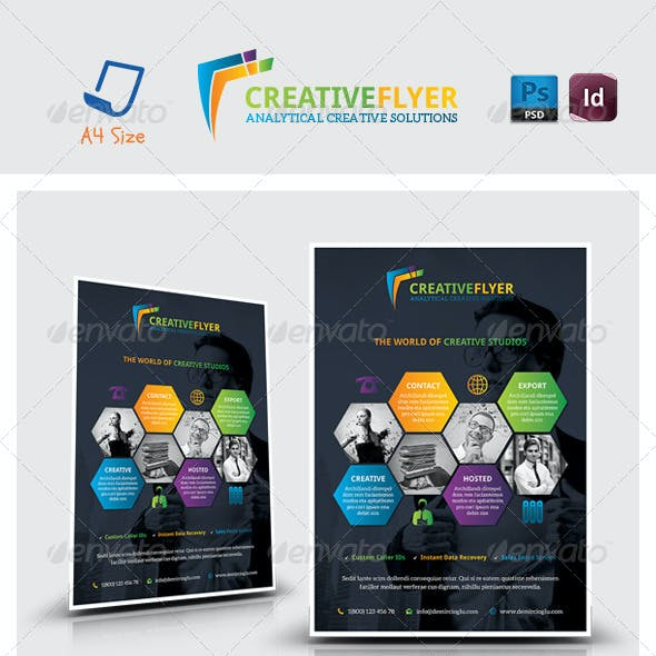 Creative Studio Flyer Templates