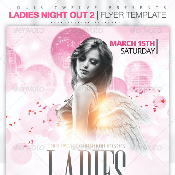 Ladies Night Out 2 | Flyer Template
