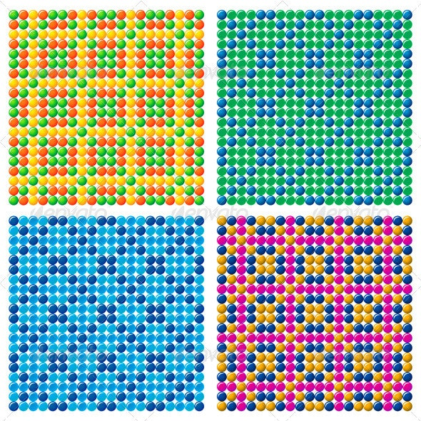 4 Candy Backgrounds - Backgrounds Decorative