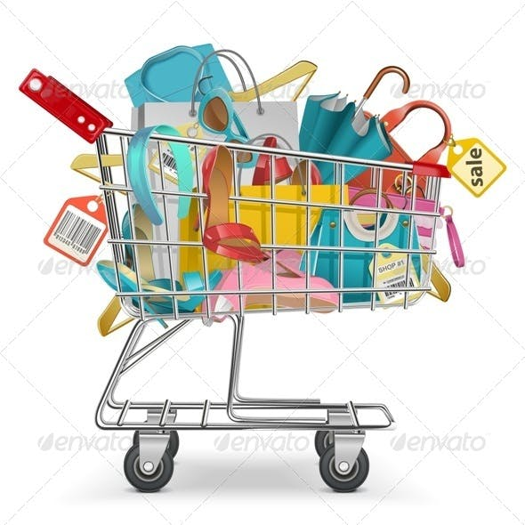 Trolley with Purchase