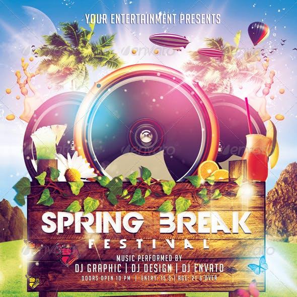 Spring Break Festival