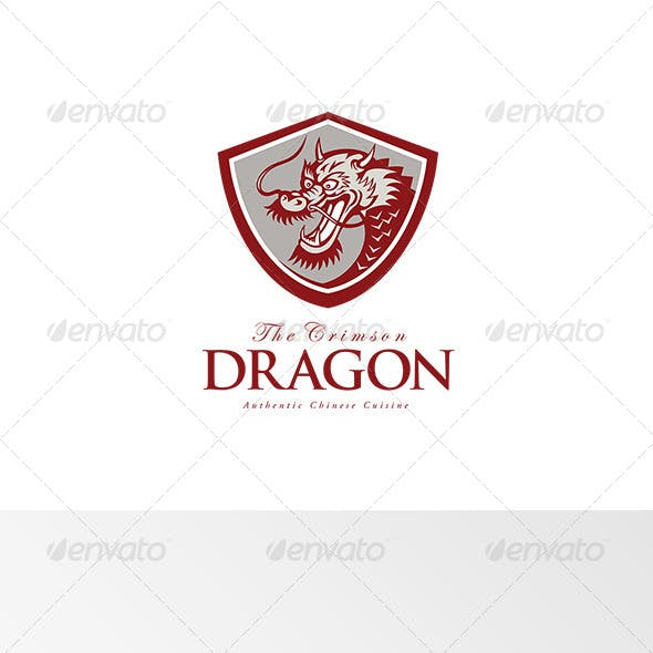 The Crimson Dragon Chinese Cuisine Logo