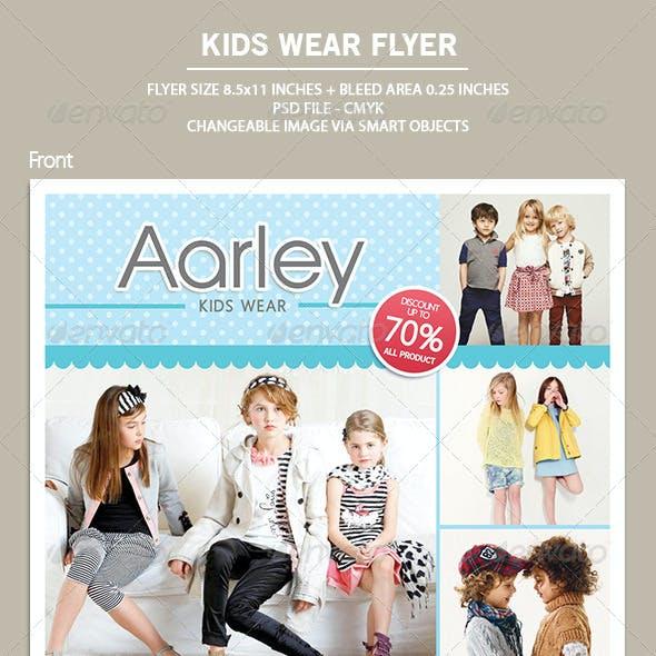 Kids Wear Flyer