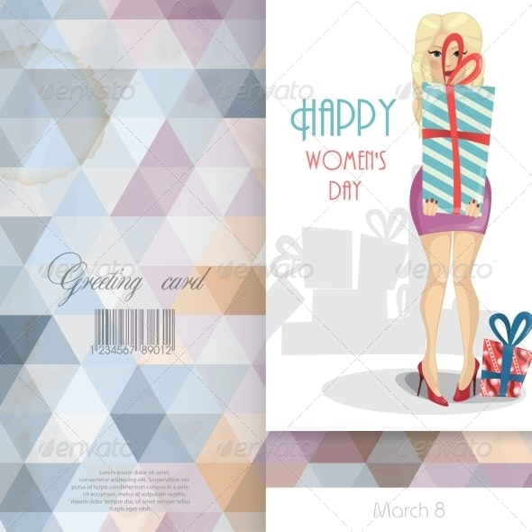 Greeting Card Design Template - Miscellaneous Seasons/Holidays
