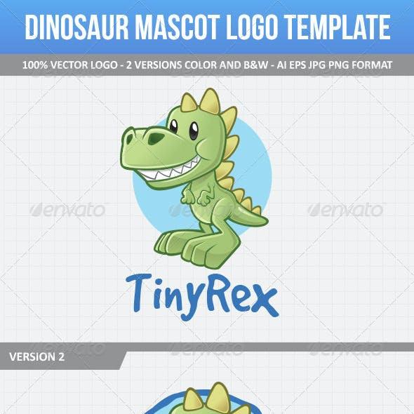 Dinosaur Mascot Logo Template