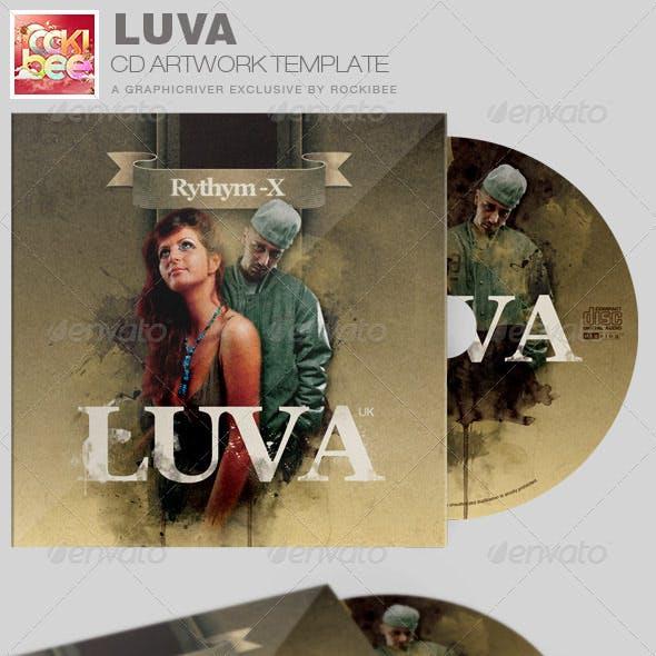 Luva Album Release CD Artwork Template