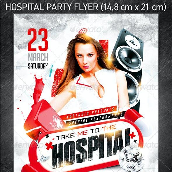 Hospital Party Flyer