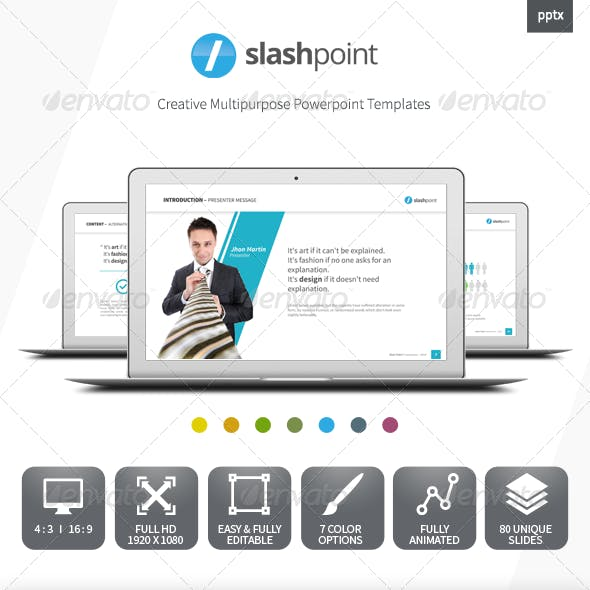 Slashpoint - Creative Business powerpoint template