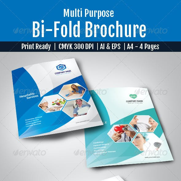 Multi Purpose Bi-Fold Brochure