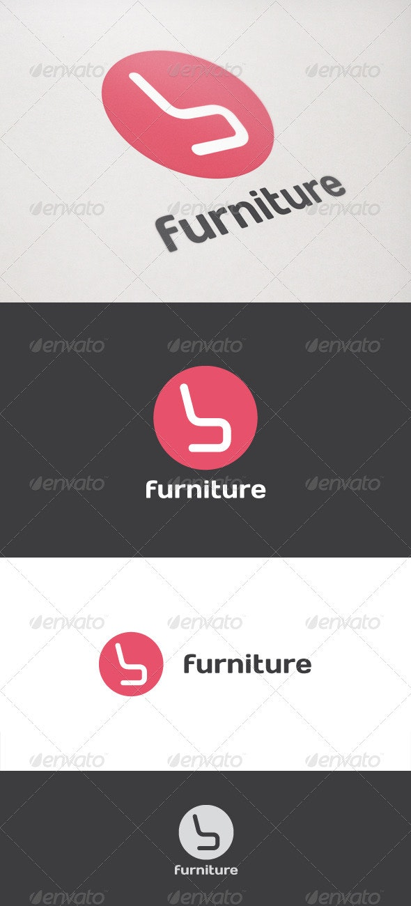Furniture Design - Objects Logo Templates