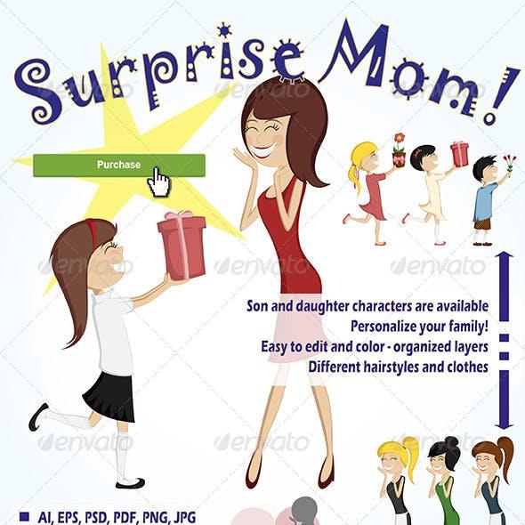 Surprise Mom