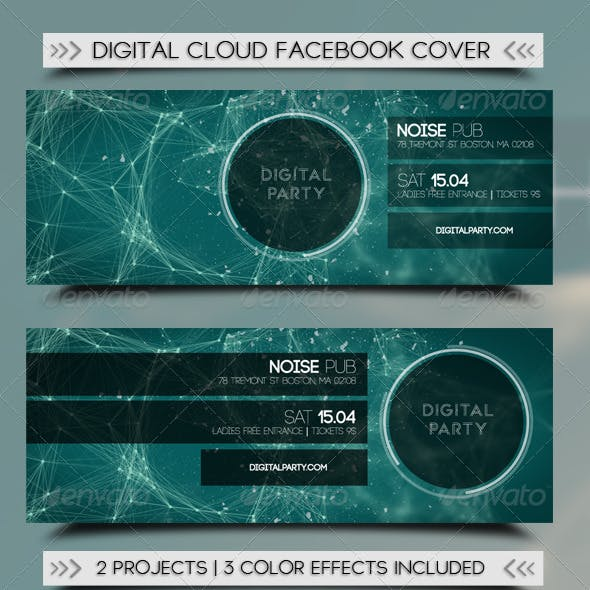 Digital Cloud Fb Cover