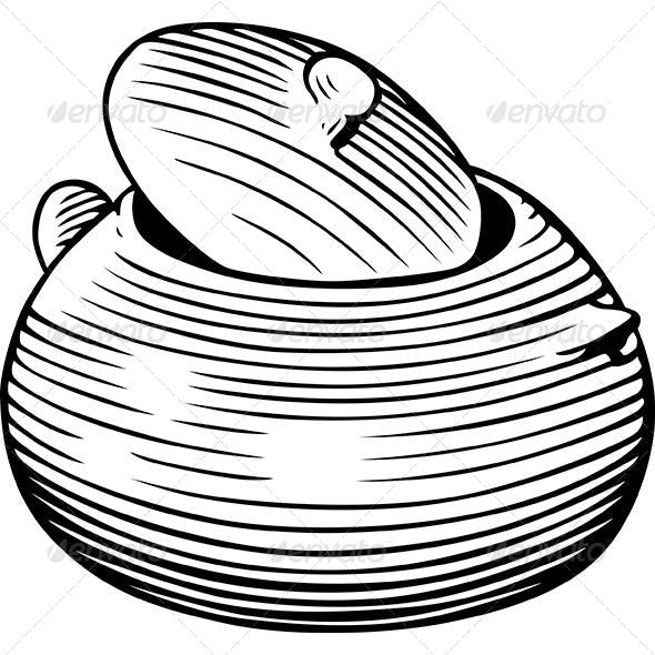 Sugar Pot