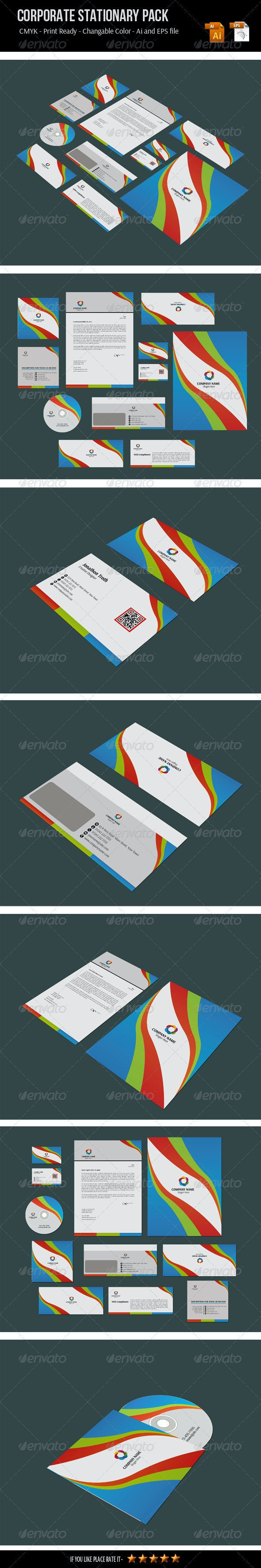 Corporate Stationery Pack - Stationery Print Templates