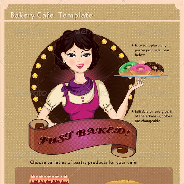 Bakery Cafe Template