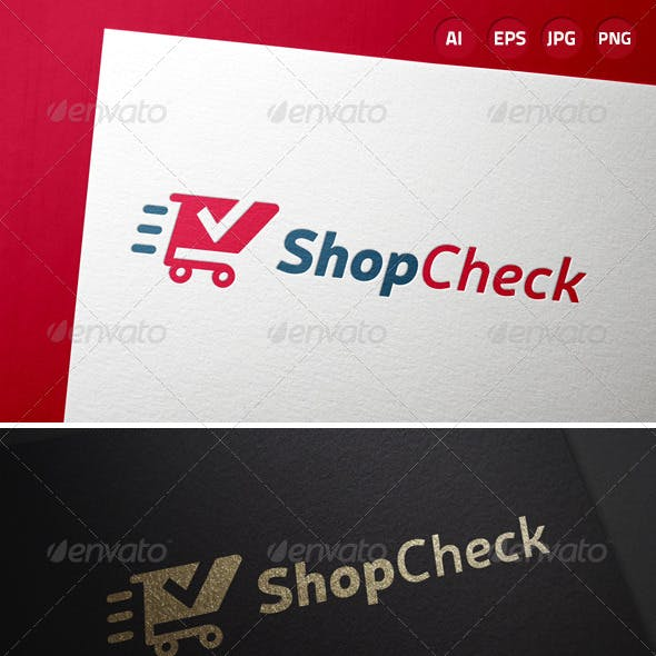 Shop Check Retail Logo
