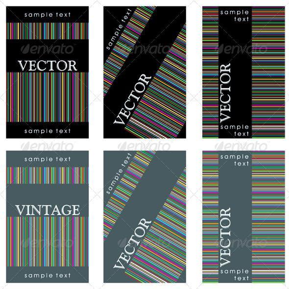 Wine Labels Design Template Set
